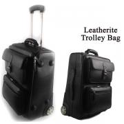 Leather Strolley Bag